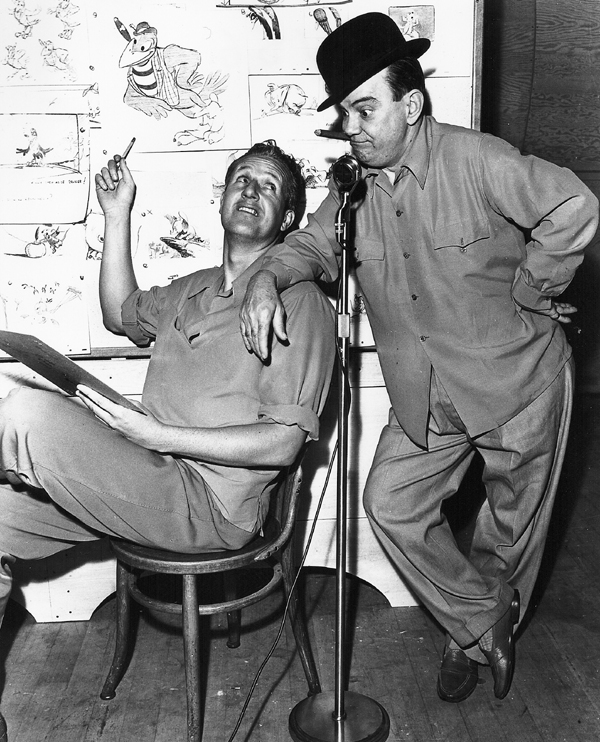 Jack Kinney and Cliff Edwards
