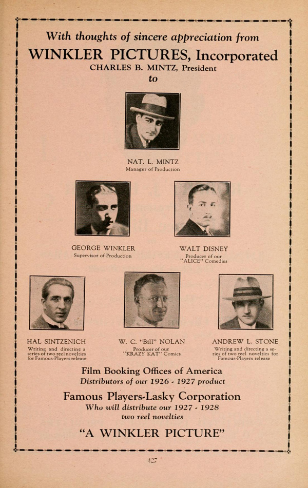1927 Film Daily Year Book