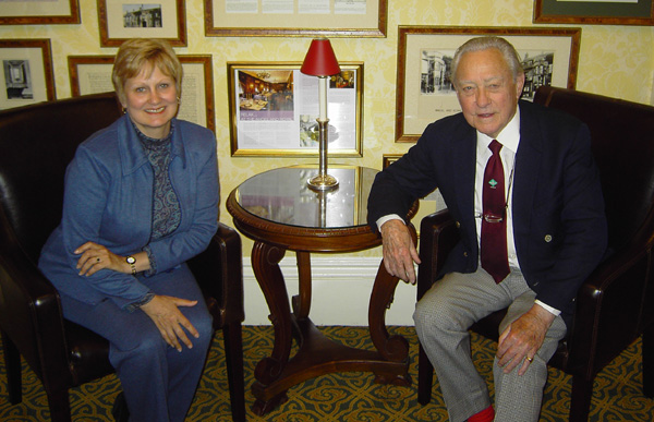 Richard Todd and Phyllis Barrier