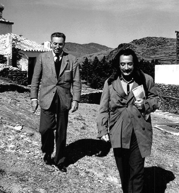 Walt and Dali