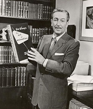 Walt with book